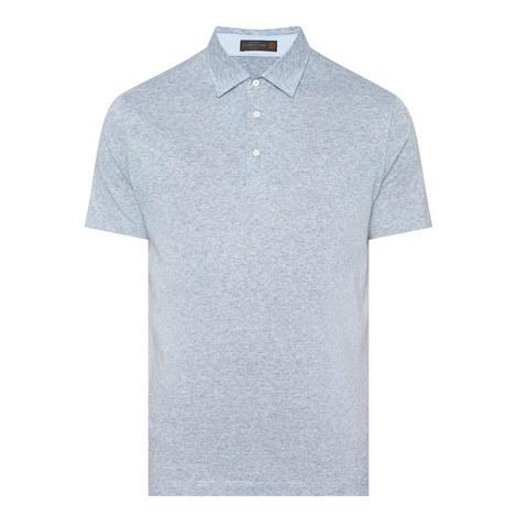 Mélange Polo Shirt, ${color}