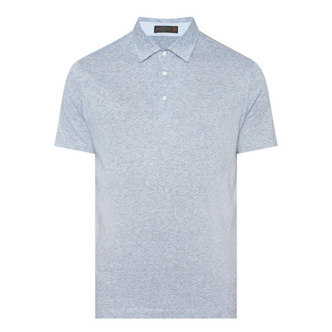 Mélange Polo Shirt, ${color}