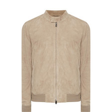Suede ID Bomber Jacket