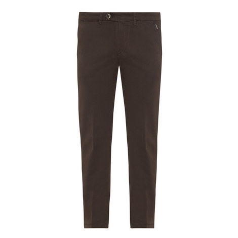 Straight Fit Twill Chinos, ${color}