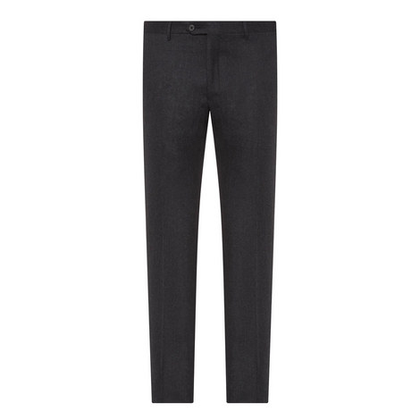 Straight Leg Wool Trousers, ${color}