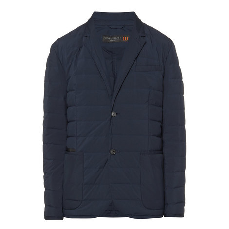 Single Breasted Quilted Jacket, ${color}