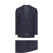 2 Piece Check Suit