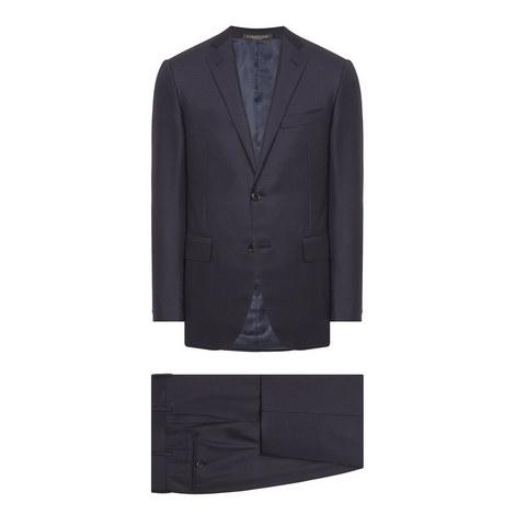 2 Piece Virgin Wool Suit, ${color}