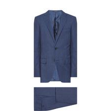 Mélange Check Two-Piece Suit