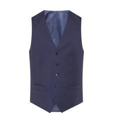 Wool Twill Waistcoat