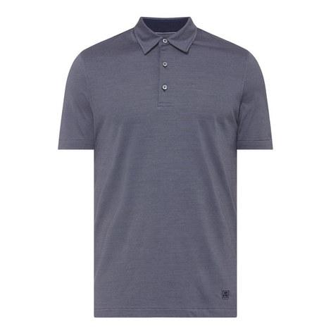 Silk Cotton Polo Shirt, ${color}