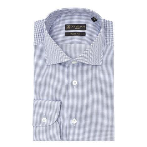 Micro-Check Print Shirt, ${color}