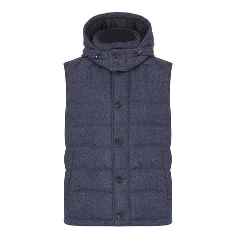 Quilted Down Gilet, ${color}