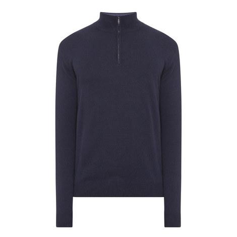 Half-Zip Wool Sweater, ${color}