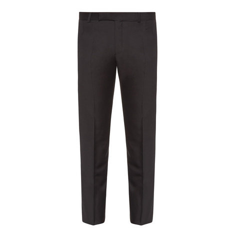 Wool Twill Trousers, ${color}