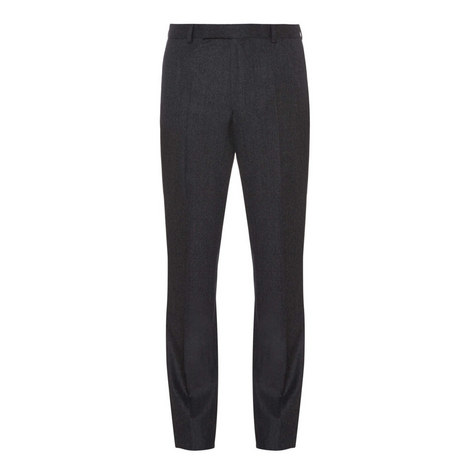 Wool Flannel Trousers, ${color}