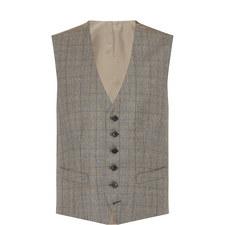 Large Check Waistcoat