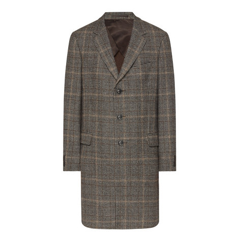 Checked Wool Overcoat, ${color}