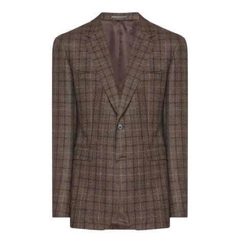 Single Breasted Cashmere Blazer, ${color}