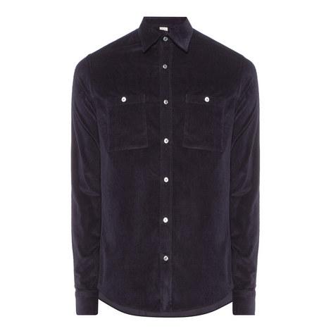 Corduroy Button-Down Shirt, ${color}