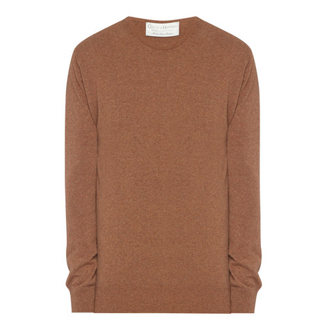 Crew Neck Cashmere Sweater, ${color}