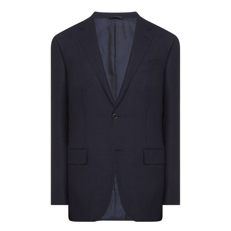 Single Breasted Wool Blazer, ${color}