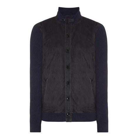 Cashmere Mix Bomber Jacket, ${color}