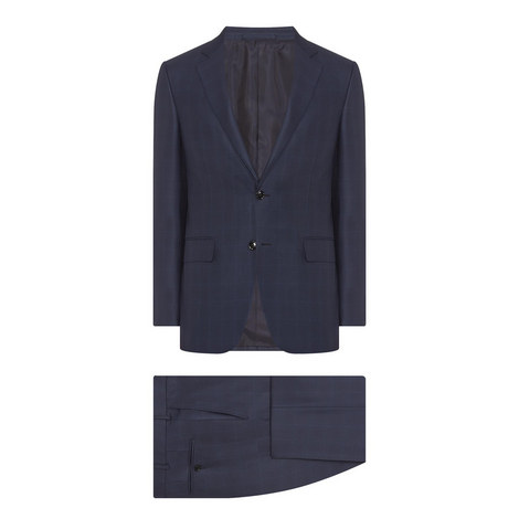 2-Piece Milano Wool Suit, ${color}