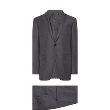 Mélange Check Suit