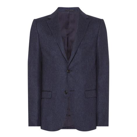 Mini Check Suit Jacket, ${color}