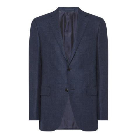 Textured Suit Jacket, ${color}