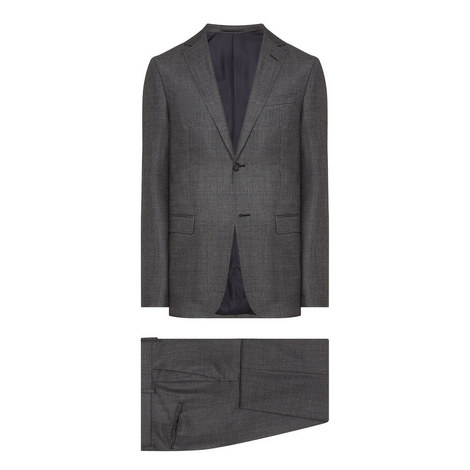 Two Piece Wool Suit, ${color}