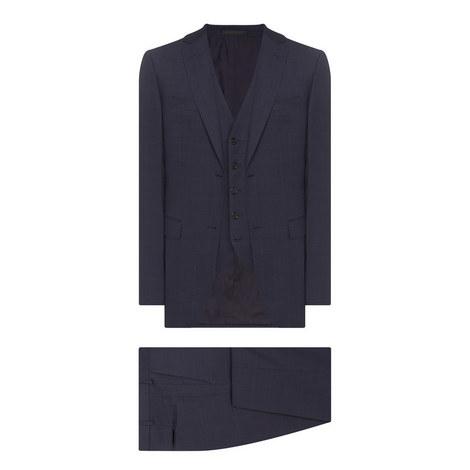 3 Piece Check Suit, ${color}