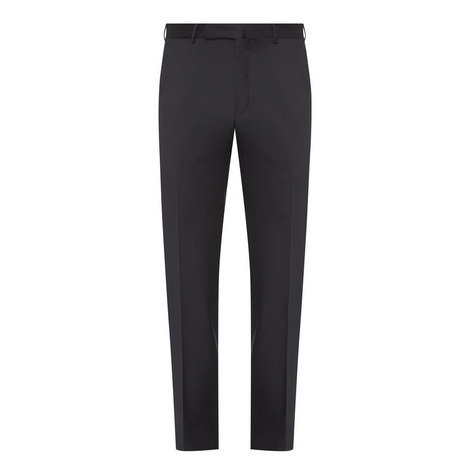 Pleated Wool Trousers, ${color}