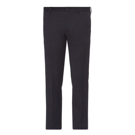 Slim Fit Flannel Trousers, ${color}