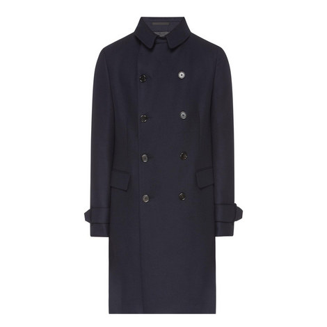 Double-breasted Military Coat, ${color}