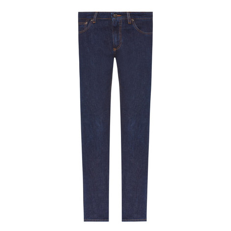 Slim Straight Fit Jeans, ${color}