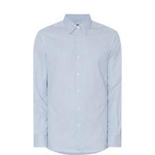 Grid Print Shirt