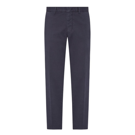 Washed Cotton Trousers , ${color}