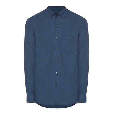 Button-Down Collar Shirt, ${color}