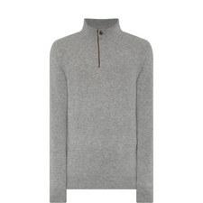 Cashmere Half-Zip Sweater