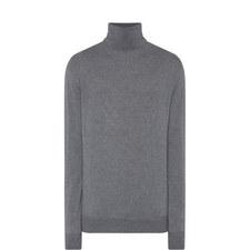 Polo Neck Merino Wool Sweater