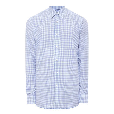 Grid Check Shirt, ${color}