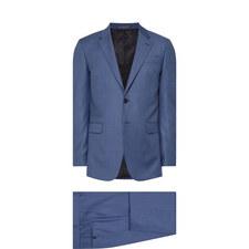 Two-Piece Sharkskin Byard Fit Suit