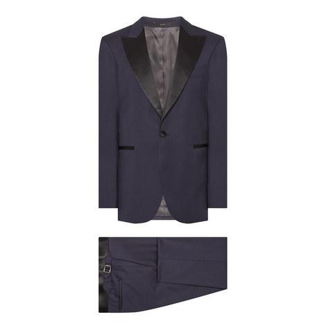 Peak Lapel Evening Suit, ${color}