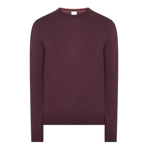 Merino Wool Crew Neck Sweater , ${color}