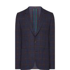 Tweed Single-Breasted Blazer