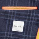 Tweed Check Pattern Blazer, ${color}