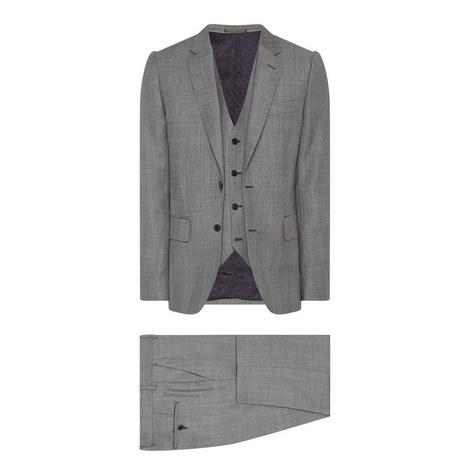 Check 3-Piece Suit, ${color}