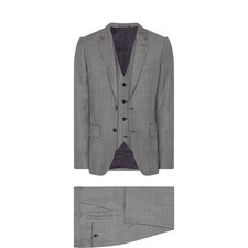 Check 3-Piece Suit