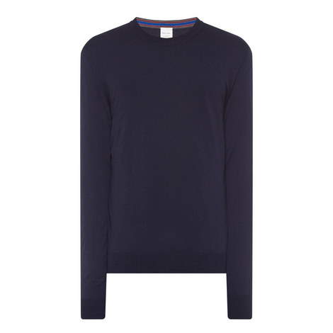 Merino Wool Crew Neck Sweater, ${color}
