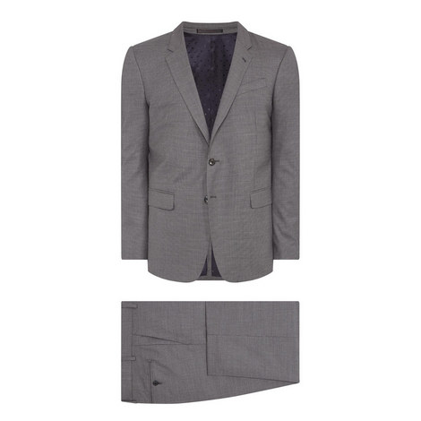 2-Piece Micro-Herringbone Byard Suit, ${color}