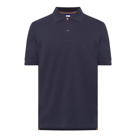 Charm Button Polo Shirt, ${color}