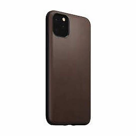 Rugged Leather iPhone 11 6.5 Case, ${color}